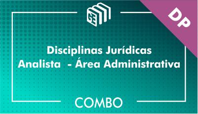 Disciplinas Jurídicas Analista Administrativo DP - Combo