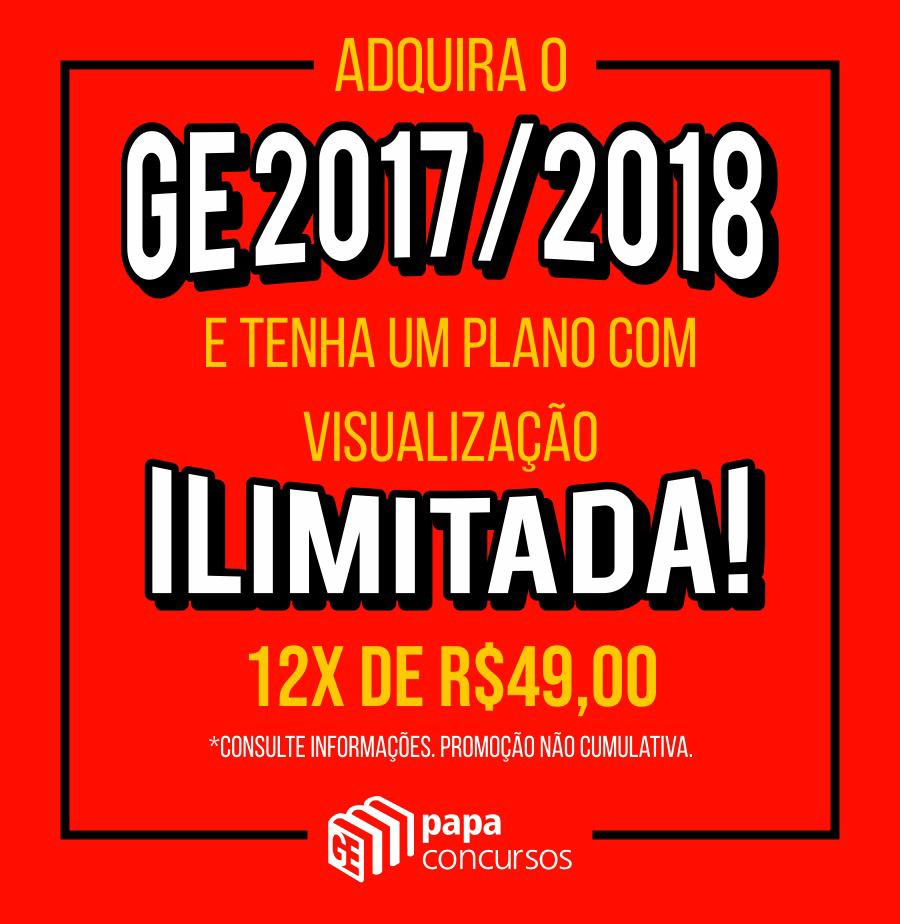 Promoção - Visualização Ilimitada - GE 17/18