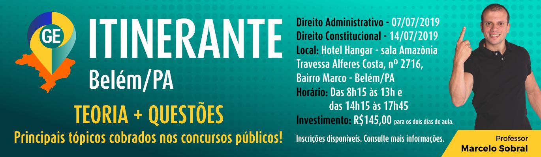 GE Itinerante Belém/PA - 2019