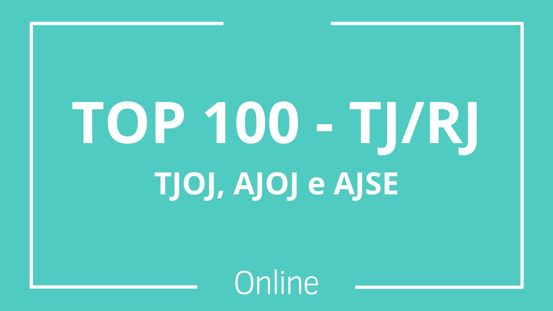 TOP 100 - TJ/RJ - Combo - Online