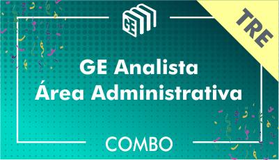 GE Analista Administrativo TRE - Combo