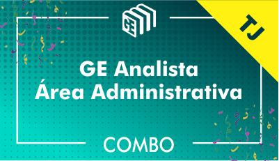 GE Analista Administrativo TJ - Combo
