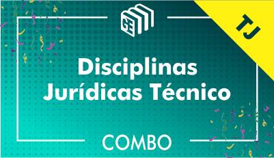 Disciplinas Jurídicas Técnico TJ - Combo