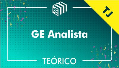 GE Analista TJ - Teórico