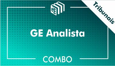 GE Analista Tribunais - Combo