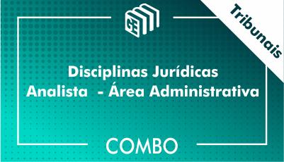 Disciplinas Jurídicas Analista Administrativo Tribunais - Combo