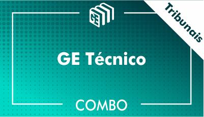 GE Técnico Tribunais - Combo