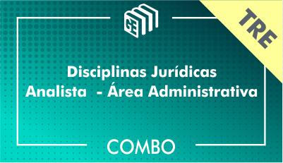 Disciplinas Jurídicas Analista Administrativo TRE - Combo