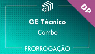 2019/2020 - GE Técnico DP - Combo - Prorrogação