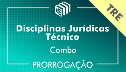 2019/2020 -  Disciplina2019/2020 -  Disciplinas Jurídicas Técnico TRE - Combo - Prorrogaçãos Jurídicas Técnico TRE - Combo - Prorrogação