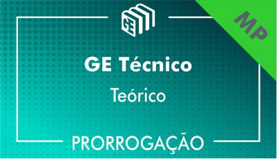 2019/2020 - GE Técnico MP - Teórico - Prorrogação