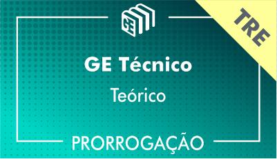 2019/2020 - GE Técnico TRE - Teórico - Prorrogação