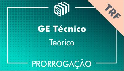 2019/2020 - GE Técnico TRF - Teórico - Prorrogação