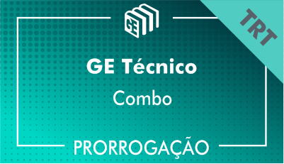 2019/2020 - GE Técnico TRT - Combo - Prorrogação