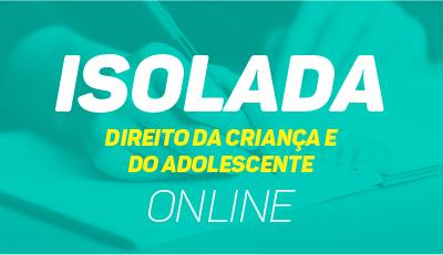 Direito da Criança e do Adolescente - Online