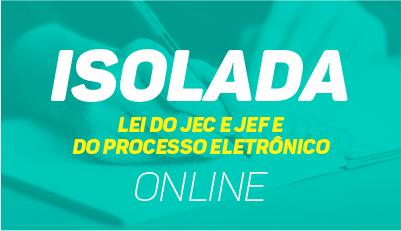 Leis do JEC, JEF e do Processo Eletrônico