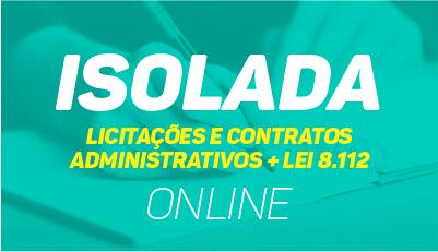 Licitações e Contratos Administrativos + Lei 8.112
