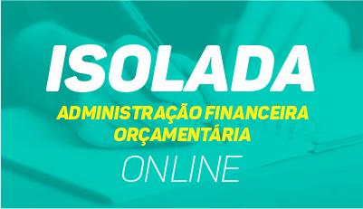 Administração Financeira e Orçamentária - Online