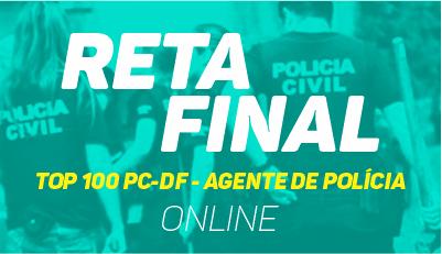 TOP 100 - PC/DF - Agente de Polícia