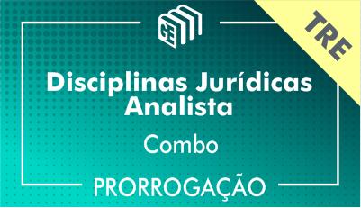 2019/2020 - Disciplinas Jurídicas Analista TRE - Combo - Prorrogação