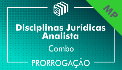 2019/2020 - Disciplinas Jurídicas Analista MP - Combo - Prorrogação