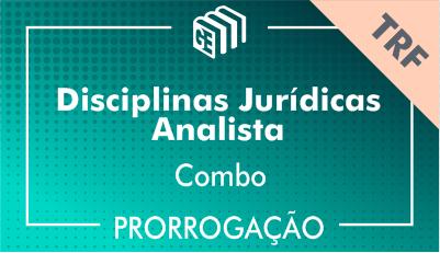 2019/2020 - Disciplinas Jurídicas Analista TRF - Combo - Prorrogação