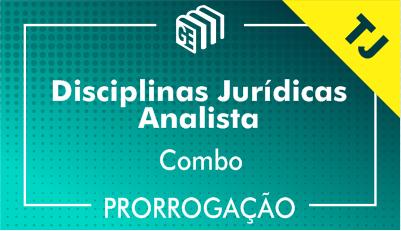 2019/2020 - Disciplinas Jurídicas Analista TJ - Combo - Prorrogação
