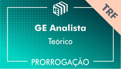 2019/2020 - GE Analista TRF - Teórico - Prorrogação