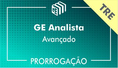 2019/2020 - GE Analista TRE - Avançado - Prorrogação