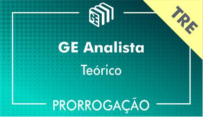 2019/2020 - GE Analista TRE - Teórico - Prorrogação