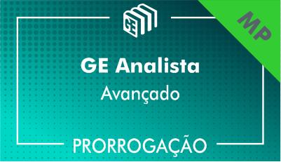 2019/2020 - GE Analista MP - Avançado - Prorrogação