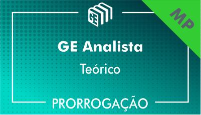 2019/2020 - Analista MP - Teórico - Prorrogação