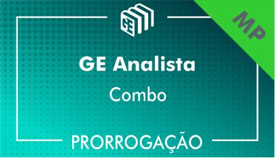 2019/2020 - GE Analista MP - Combo - Prorrogação