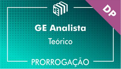 2019/2020 - GE Analista DP - Teórico - Prorrogação