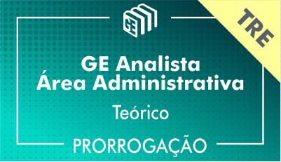 2019/2020 - Analista Administrativo TRE - Teórico - Prorrogação