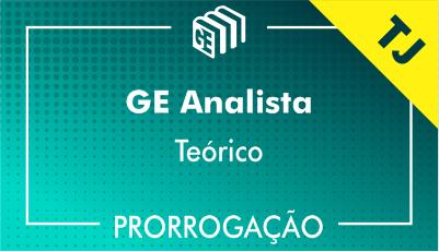 2019/2020 - GE Analista TJ - Teórico - Prorrogação