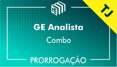 2019/2020 - GE Analista TJ - Combo - Prorrogação