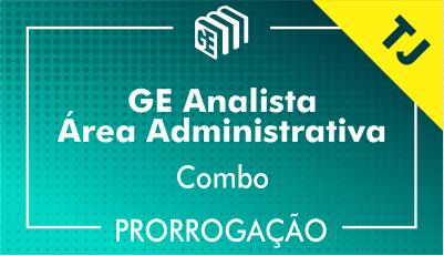 2019/2020 - Analista Administrativo TJ - Combo - Prorrogação
