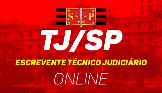 TJ/SP - Escrevente Técnico Judiciário