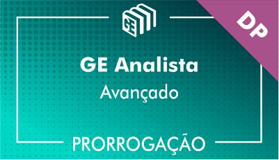 2019/2020 - GE Analista DP - Avançado - Prorrogação