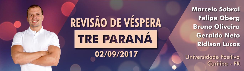 Revisão de Véspera - TRE Paraná - Banner