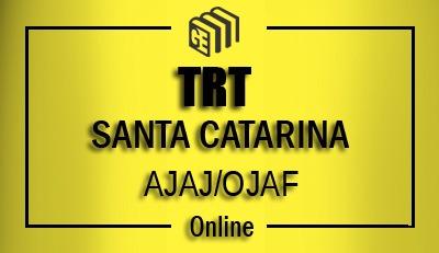 TRT Santa Catarina - AJAJ/OJAF