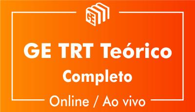 GE TRT Brasil Teórico - Online/Ao vivo