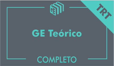 GE 2017/2018 - GE TRT Brasil Teórico - Online