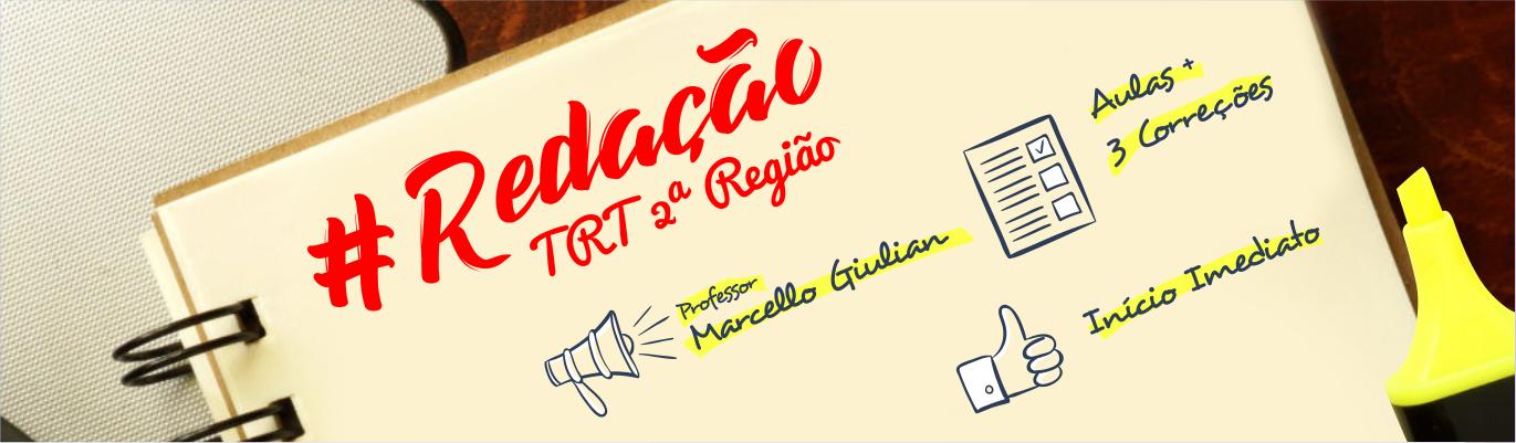 Banner - REDAÇÃO - TRT 2ª REGIÃO