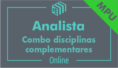 Analista do MPU - Combo Disciplinas Complementares