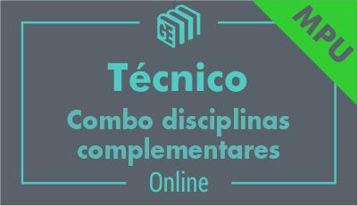 Técnico do MPU - Combo Disciplinas Complementares