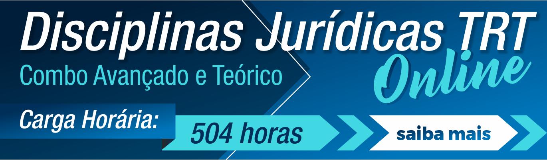 Disciplinas Jurídicas Combo TRT