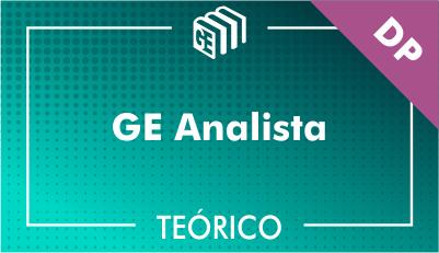 GE Analista DP - Teórico