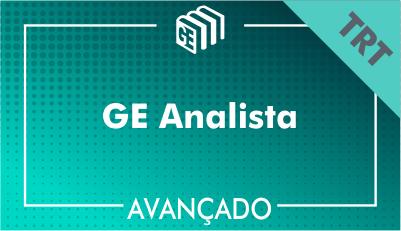 GE Analista TRT - Avançado